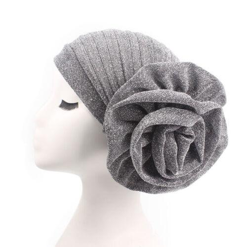Women Muslim Indian Hat Bonnet Hijab Turban Hat Chemo Cap Headscarf Headwrap