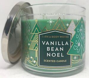 VANILLA BEAN NOEL BATH & BODY WORKS SCENTED CANDLE 3 WICK ...