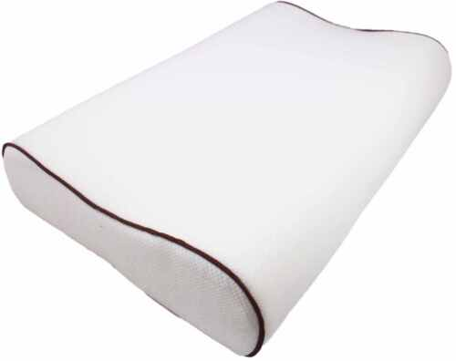 COVER CONTOUR MEMORY FOAM PILLOW ORTHOPAEDIC FIRM HEAD NECK BACK SUPPORT