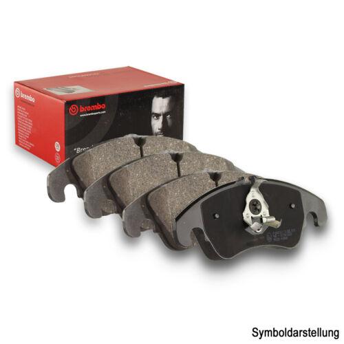 BREMBO Bremsbeläge Bremsbelagsatz Bremsklötze Vorne für Fahrzeuge mit Tempomat