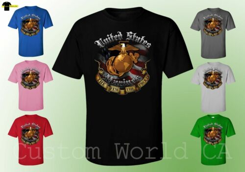 USMC Marine Corps Shirts The Few The Proud Last Stand New Design Licensed Tee