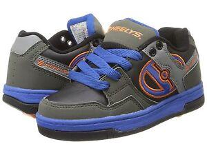 New HEELYS Flow Wheeled Sneaker SZ 2 3 4 5 Unisex ROLLER SKATE SHOES