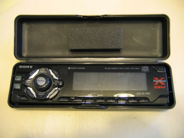 Sony Xplod 52wx4 Face Plate Only