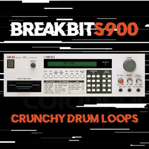 Details about Breakbits900 - Akai S900 Electro Breakbeat Drum Loops - Aphex  Twin Warp IDM EDM