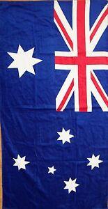 brand new australia australian flag beach bath cotton towel