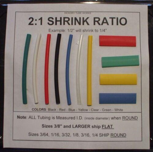 "3//8/"" BLACK 10/' Heat Shrink Tubing Shipping Discount"