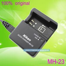 Genuine Original Nikon MH-23 EN-EL9 EN-EL9A Battery Charger for D40 D40x D60