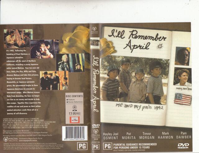 I'll Remember April-2008-Hayley Joel Osment-Movie-DVD