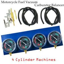 Motorcycle Carb Sync Gauge Vacuum Synchronizer Tool Fit For Honda Harley Yamaha