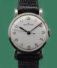 Vintage 40's Jaeger Le Coultre FANCY LUGS Large Ladies Classic Watch