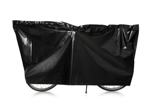 Fahrradschutzhülle schwarz Fahrradhülle VK Faltgarage 100x220cm NEU