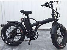 750watts!!Fat Tire 4' Tire 48v Samsung Electric Bicycle Folding 20' E-Bike 30MPH
