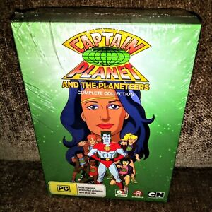***REGION 4*** Captain Planet and the Planeteers Seasons 1 2 3 4 5 6 DVD SEALED!