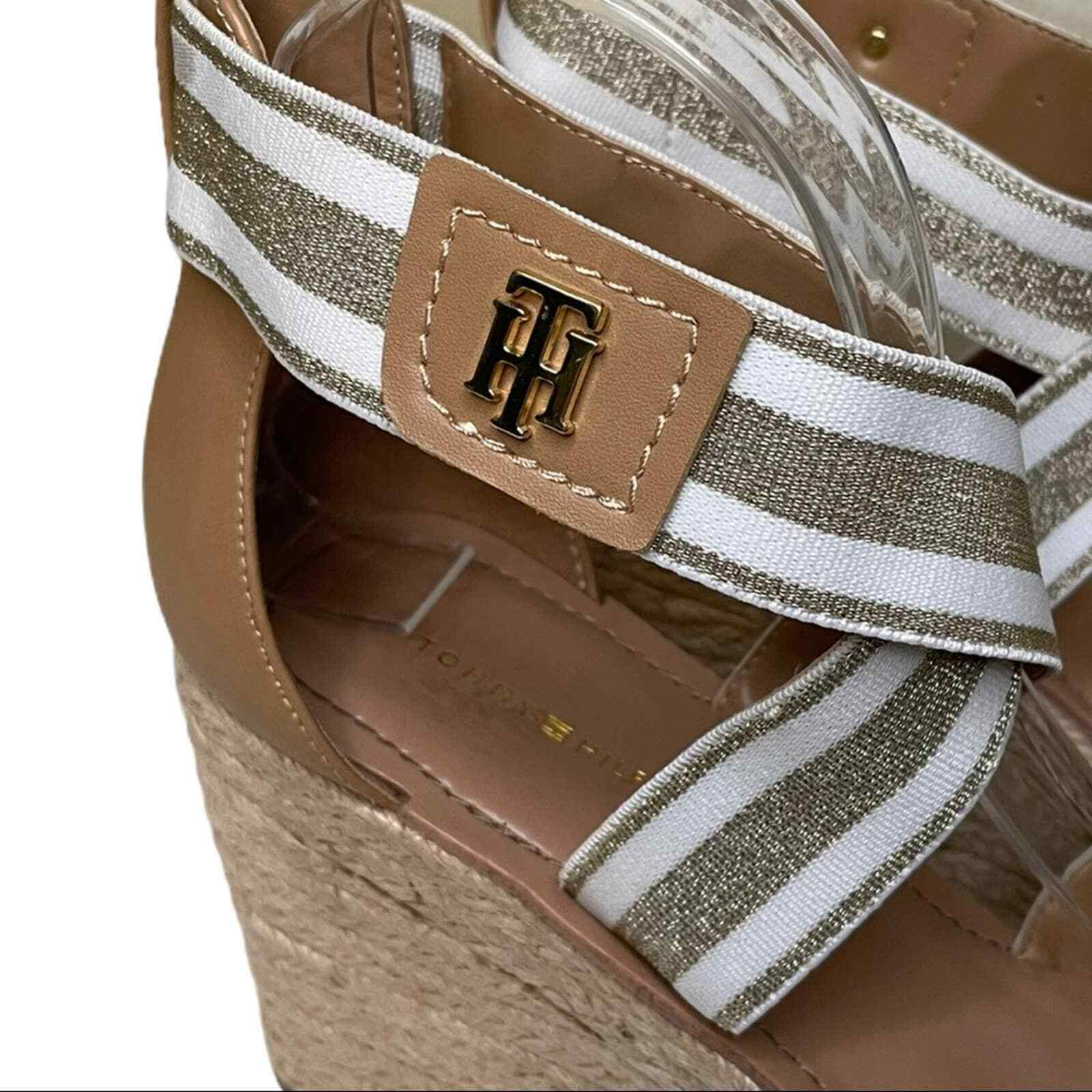 Tommy Hilfiger Theia Wedges Size 8.5 - image 4
