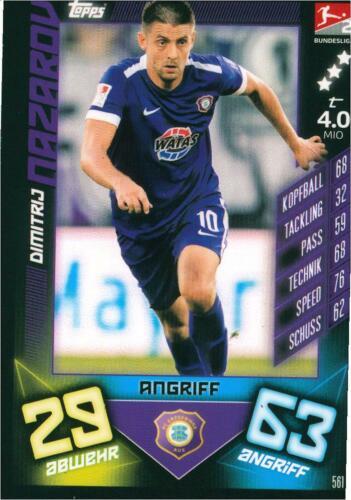 FC les Monts Métallifères AUE Match Attax 19//20 /& Action 19//20 sélection de toutes les cartes