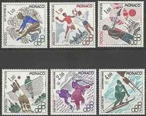 Timbres-Sports-JO-Monaco-1218-23-lot-1735