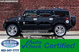 2005 Hummer H2 4x4 Luxury Edition Custom Stereo 24 Wheels
