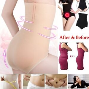 d8cd4aea85 Image is loading Women-High-Waist-Control-Briefs-Shapewear-Panty-Body-