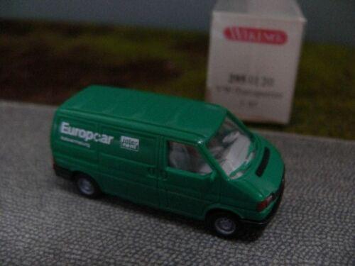 1//87 Wiking VW t4 CASSETTA Europcar 295 01