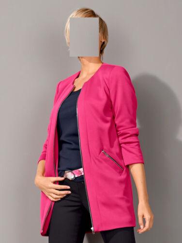 Blazer Pink Marken Jacke 0218299881 44 Gr Long 42 twqqCA