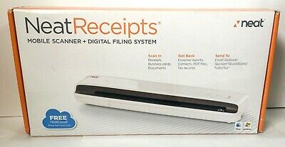 NeatReceipts Mobile Scanner and Digital Filing System PC