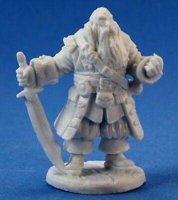 Reaper Bones 77132 Barnabus Frost Pirate Captain