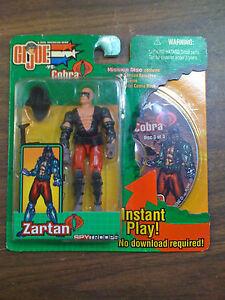 GI-JOE-VS-Cobra-Zartan-Figure-with-Mission-Disc-NEW-FREE-SHIP-US