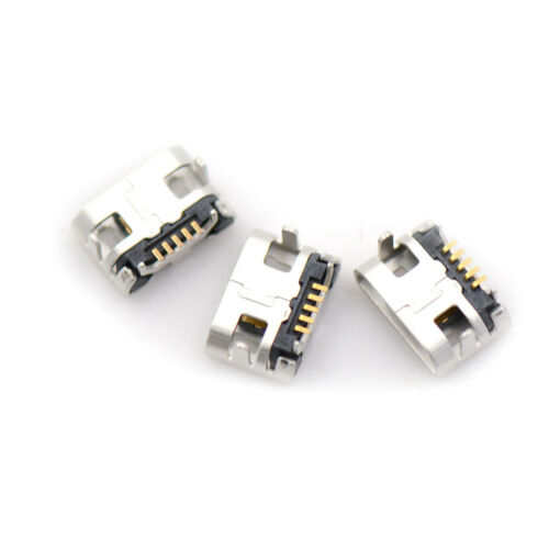 10x Neueste Micro USB Typ B Weibliche 5Pin DIP Buchse Jack Anschluss Port Gut st