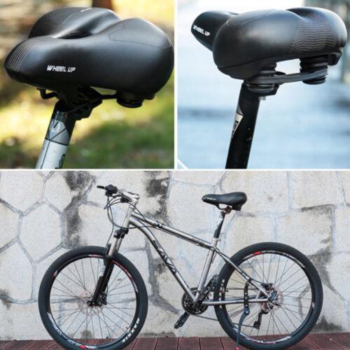 Royaume-Uni Universel Extra Large Confortable Rembourré Bicyclette Gel Selle Vélo Siège Rembourrage doux
