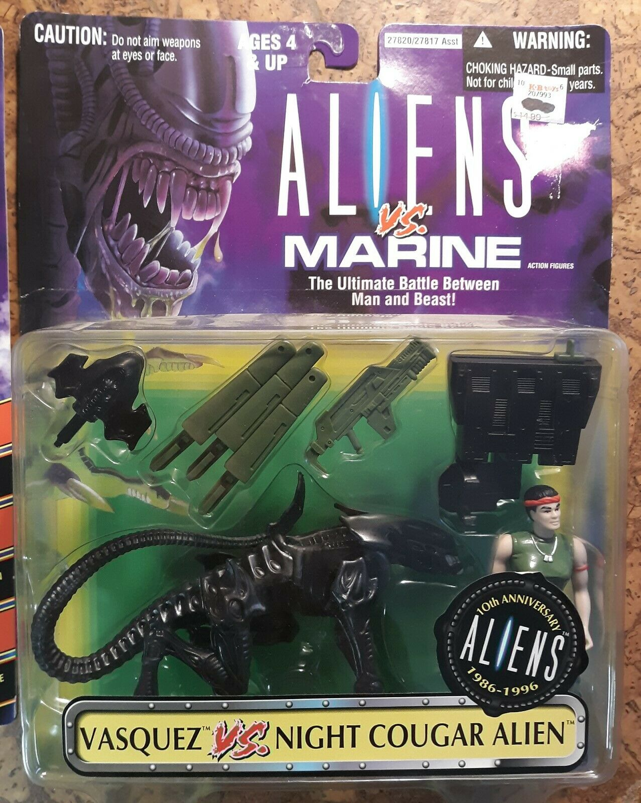 1992 Kenner Aliens spazio Marine O'Mtuttiey    Vasquez Night Cougar Alien nuovo  vendita scontata online di factory outlet