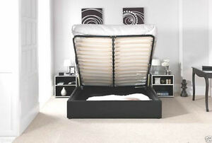 CHOOSE-STANDARD-OR-OTTOMAN-STORAGE-LEATHER-BED-BLACK-BROWN-WHITE-WITH-MATTRESS