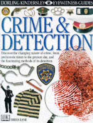 """""""AS NEW"""" Crime and Detection (Eyewitness Guides), Lane, Brian, Book"""