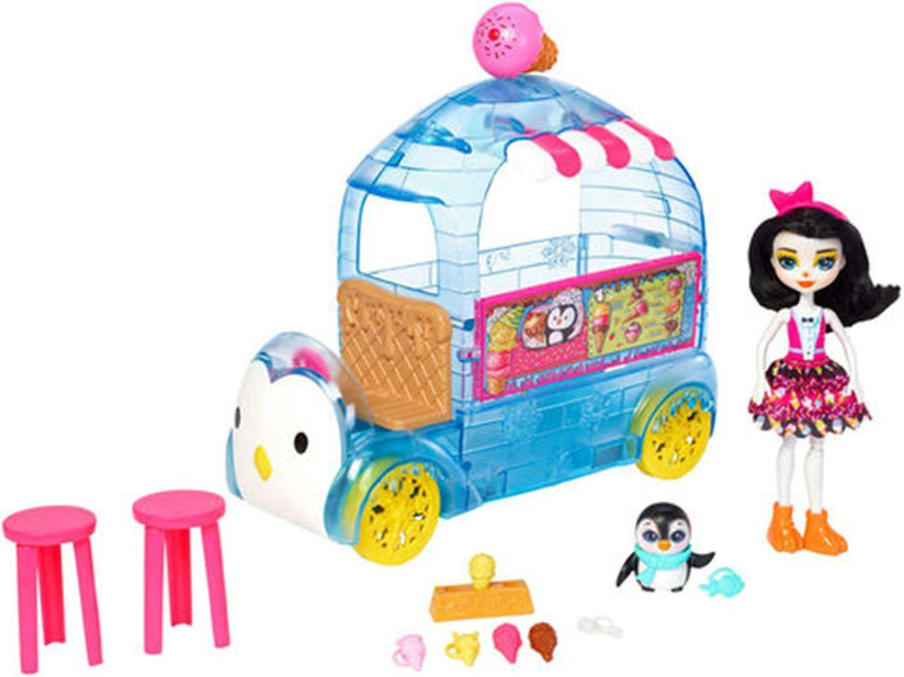 Enchantimals Frozen Treats Icecream Van-Tracked Lieferung Lieferung Lieferung 207cb8