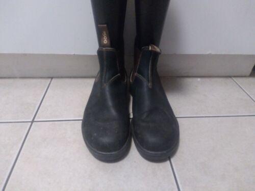 Blundstone 500 Men's Chelsea Boots -  Black US 8.5