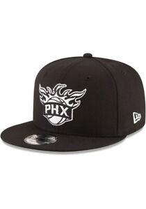 Phoenix Suns New Era 9Fifty Basic Black Snapback Hat Cap