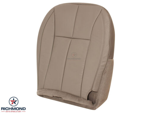 01-04 Jeep Grand Cherokee Limited-Driver Bottom Leather Seat Cover Tan Sandstone