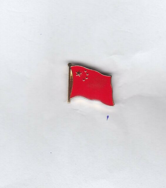 China  Flaggenpin,Flagge,Pin,Badge,Flag,Sticker
