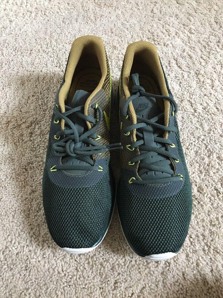Nike tanjun racer vintage / outdoor - grüne grüne - männer - laufschuhe 921669-300 größe 11. f11a95