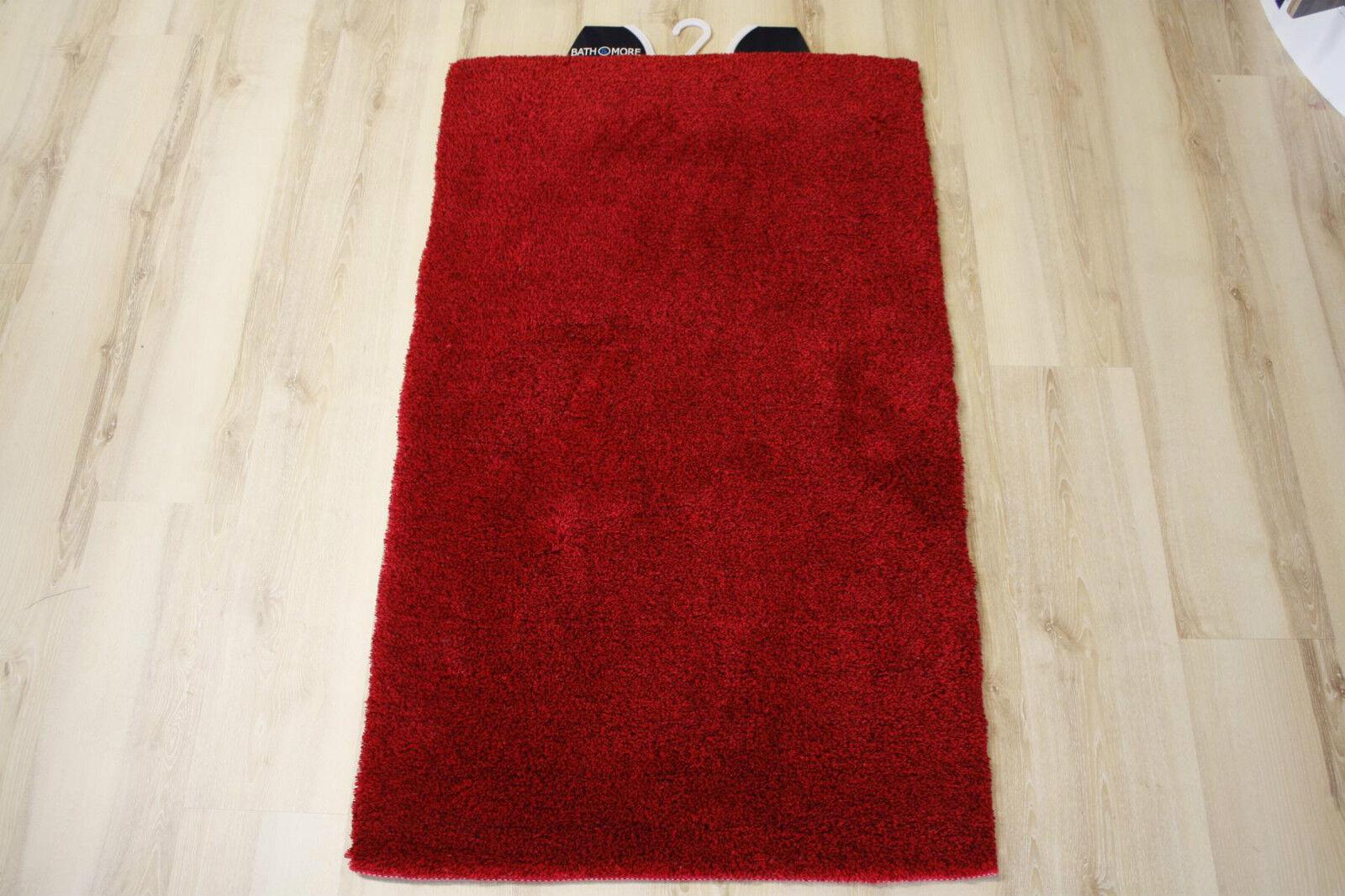 Badteppich Badematte Multi Rot 80x150 cm