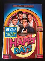 Happy Days Tv Series Complete Season 1-6 (1 2 3 4 5 & 6) 22-disc Dvd Set