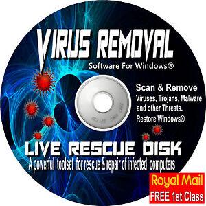 Anti-Virus-Software-Toolset-Boot-DVD-erkennen-Entfernen-von-Viren-Malware-fuer-Windows