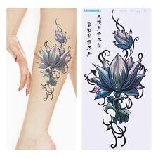 Körper Tattoos Aufkleber Hauttattoo Einmal Tattoo Temporary Schmuck Lotus Neu