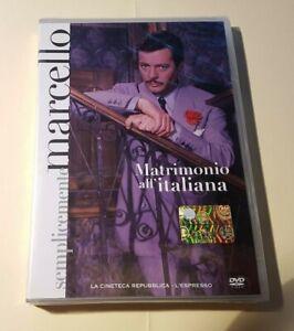 Marcello-MASTROIANNI-Matrimonio-all-039-italiana-DVD-Nuovo-e-Sigillato