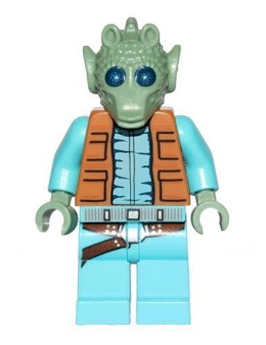 "neu LEGO Star Wars Minifigur /""Greedo/"" aus Set 75052"