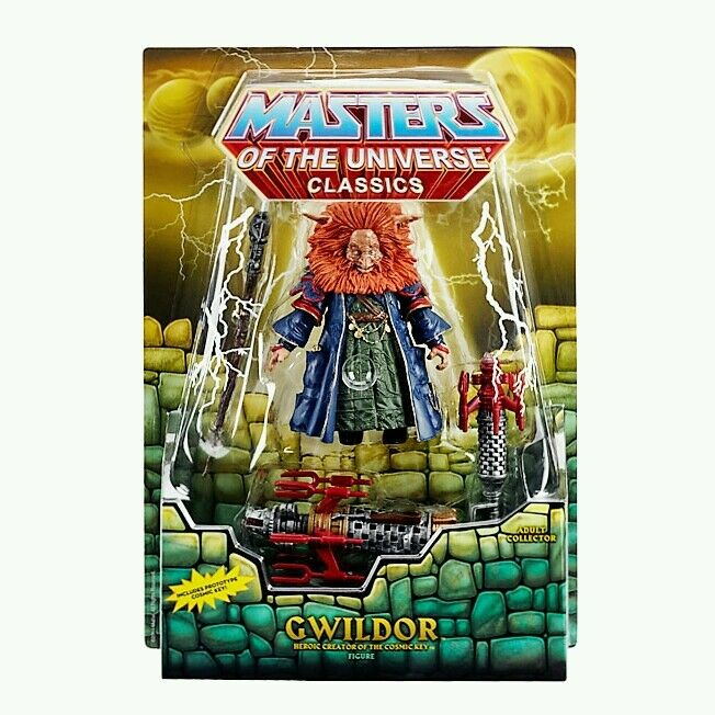 Masters of the universeclassicsGwildor Figure Heroic Creator of the Cosmic Key