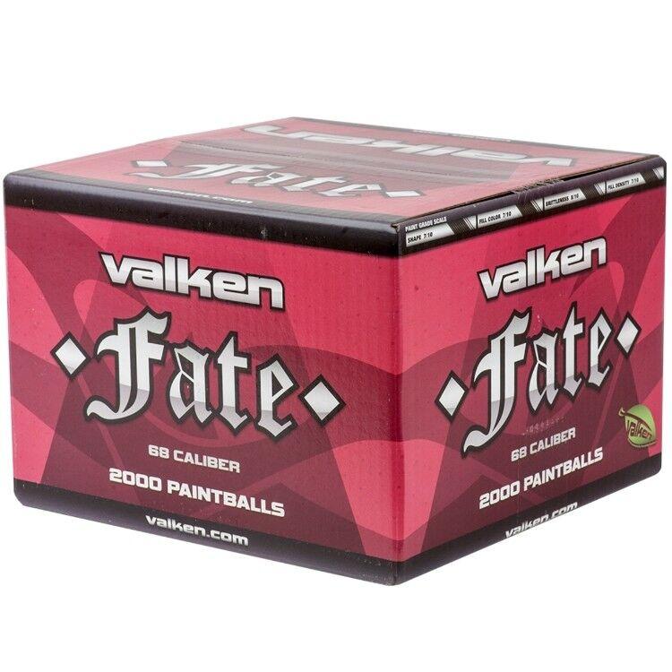 Valken Fate  Premium Field Bolas de Pintura (2000 Cochetón) Paintball Deportes  Ahorre 60% de descuento y envío rápido a todo el mundo.