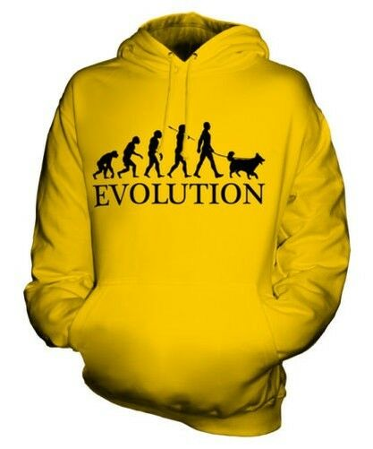 BELGIAN TERVUREN EVOLUTION OF MAN UNISEX HOODIE MENS WOMENS LADIES DOG GIFT