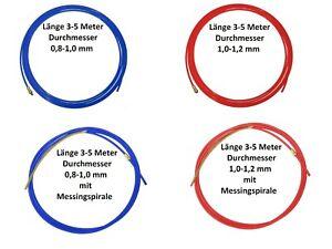 Kohle Teflonseele 3-4-5 m 0,6-1,6mm PA Seele MIG//MAG Graphitseele Kombiseele VA