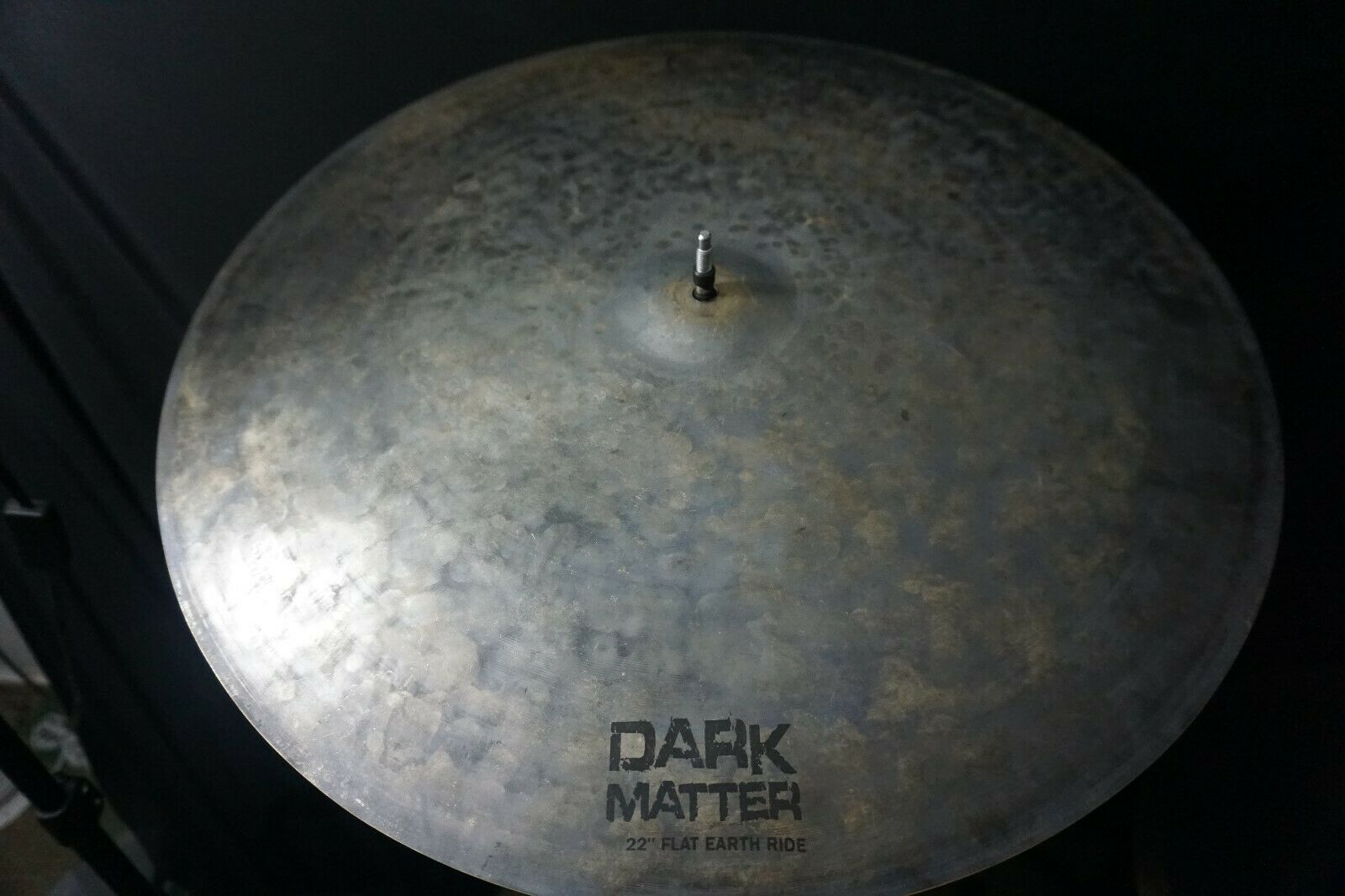 Dream Cymbals Dark Matter Series 22″ Flat Earth Ride