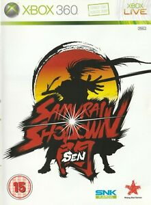 Xbox-360-Game-Samurai-Showdown-Sen